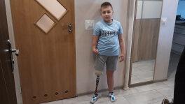 Zbiórka na protezę dla Marcina