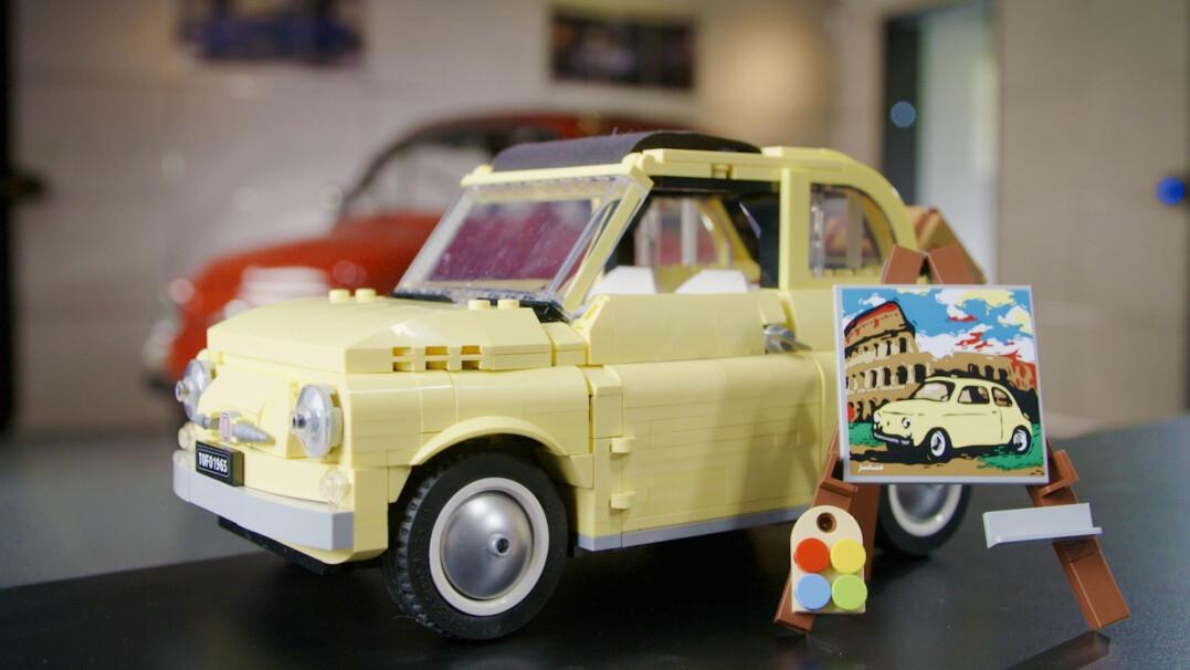 Fiat 500, Lamborghini Sian czy Land Rover Defender. Zobacz niezwykłe pojazdy z LEGO