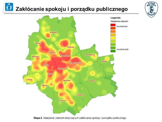 Zakłócanie spokoju i porządku publicznego straż miejska