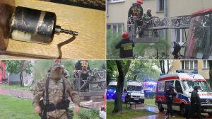 Ursus: wybuch w bloku, w którym znaleziono granat