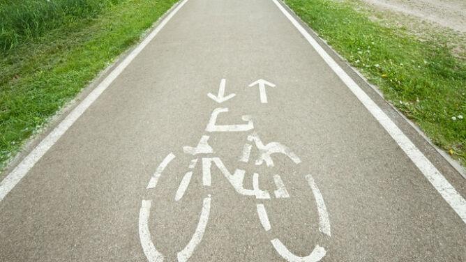 Ścieżka rowerowa, która oczyszcza powietrze