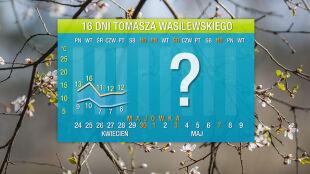 Prognoza pogody na 16 dni: zimny początek majówki