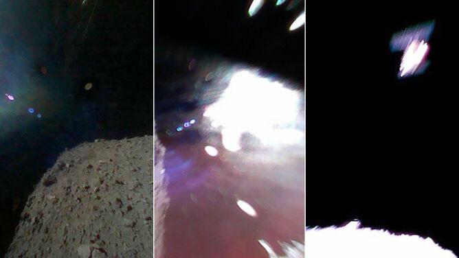 """Dwa łaziki """"skaczą"""" po asteroidzie. Zobacz zdjęcie z powierzchni"""