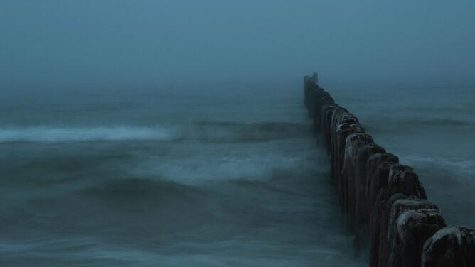 Na Bałtyku wciąż sztorm. <br />Niebezpieczny wiatr też w Bieszczadach