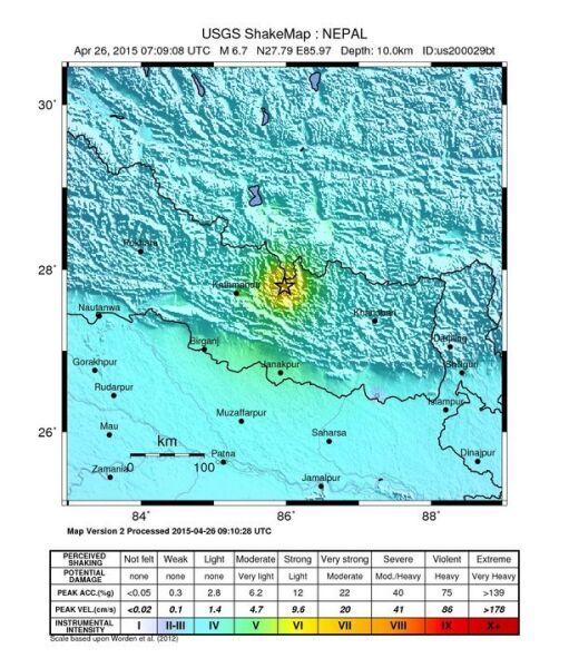 W Nepalu znów zatrzęsła się ziemia