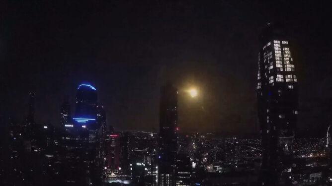 Meteor rozświetlił niebo nad Australią