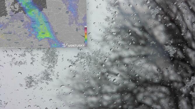 Prognoza pogody na pięć dni: <br />deszcz, śnieg i porywisty wiatr