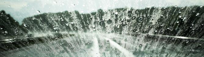 Kierowców czeka deszczowy dzień