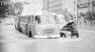Warszawskie powodzie sprzed lat