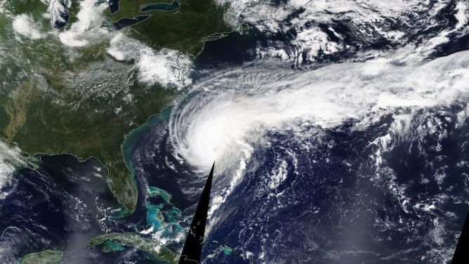 Huragan Humberto jest coraz silniejszy. <br />Bermudy przygotowują się na uderzenie