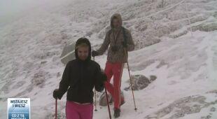 Majowa zima w górach (TVN24)